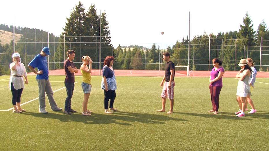 methamorphosis summer camp 2014 exercitiu