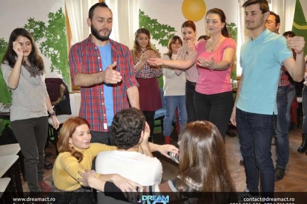 workshop actorie lucru echipa